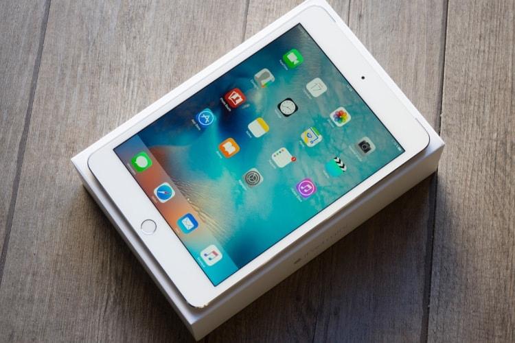 L'iPad mini 4 voit son prix baisser, mais cela ne lui rendra pas sa superbe