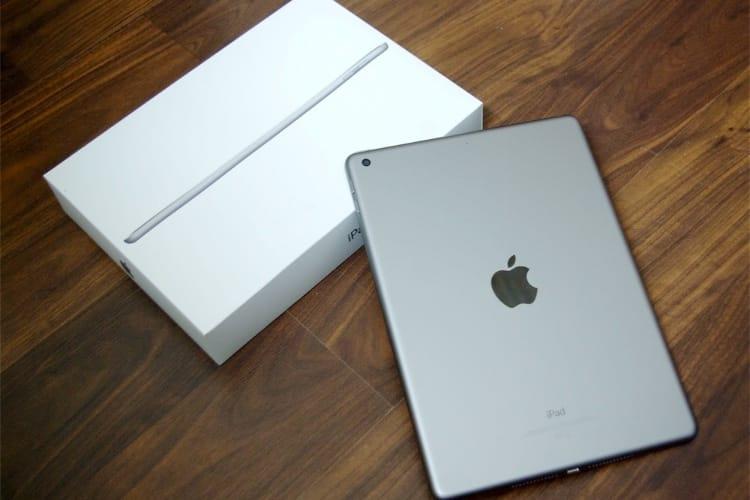 L'iPad 5e génération (2017) à partir de 289€ sur le refurb