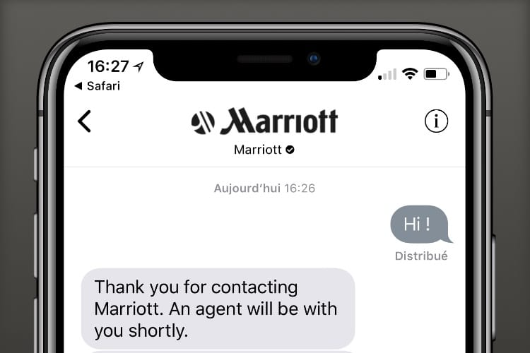 Business Chat : aperçu de la nouvelle fonction de Messages pour discuter affaires