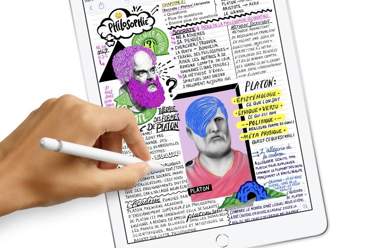 Apple Pencil: l'iPad6 fait aussi bien que les anciens iPad Pro