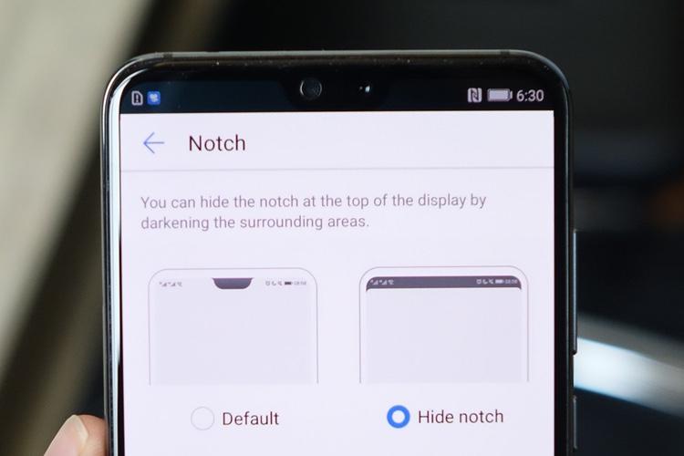 Les constructeurs Android n'assument pas leur encoche