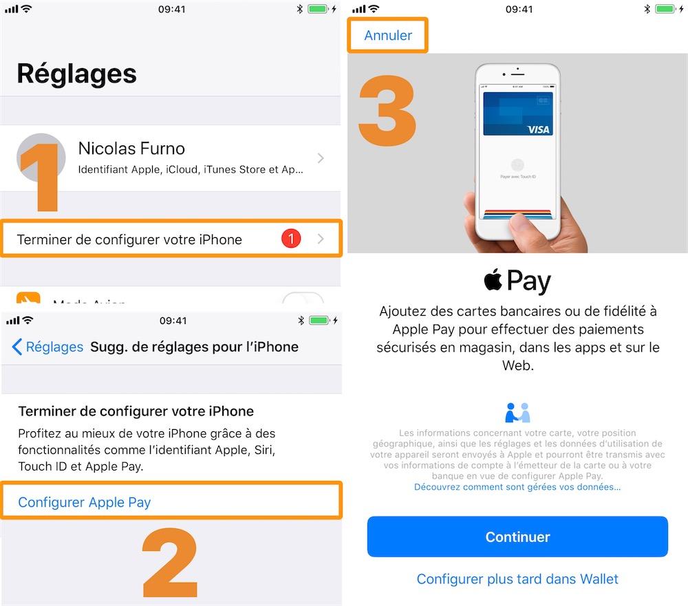 Astuce Comment Supprimer Les Incitations A Activer Apple Pay Igeneration
