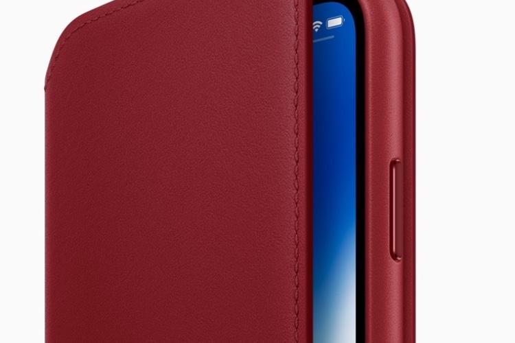 Un nouvel étui Folio (PRODUCT)RED pour les iPhoneX