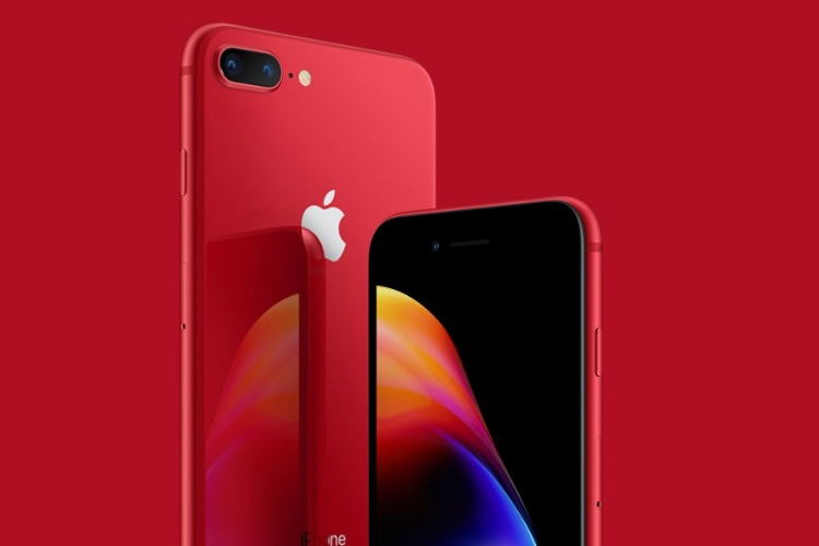 Les iPhone 8 (PRODUCT)RED sont en vente à partir de 809 €