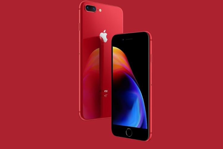 À défaut de l'iPhone 8 (PRODUCT)RED, voici son fond d'écran!