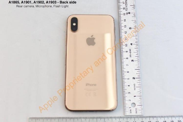 Apple préparait bien un iPhone X à la coque dorée