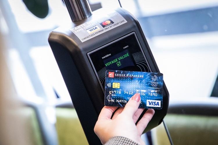 Le tram à Dijon accepte les paiements sans contact et avec Apple Pay