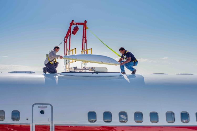 Les avions européens pourront bientôt proposer du Wi-Fi à bord