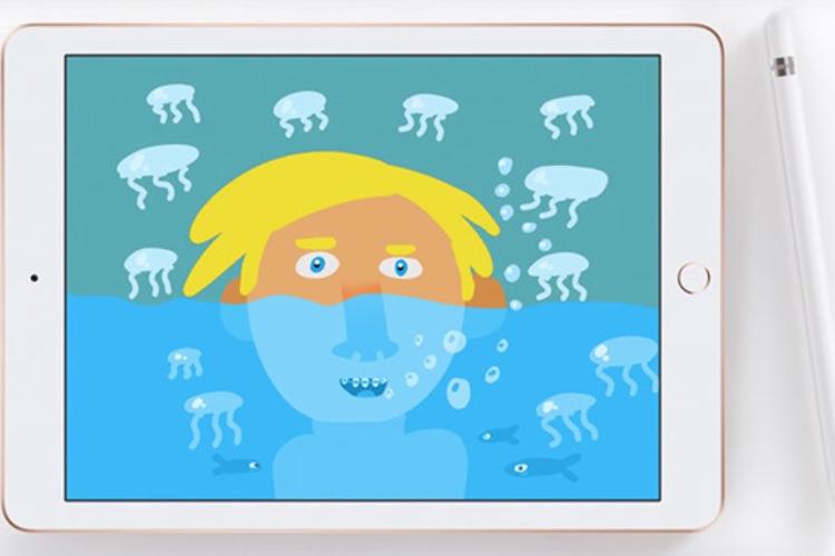 L'iPad 6 comme feuille de dessin dans les pubs d'Apple Turquie
