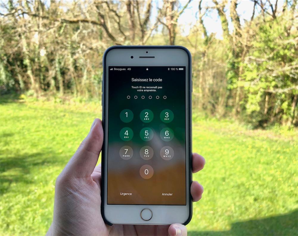 Le code d'un téléphone peut être exigé en garde à vue