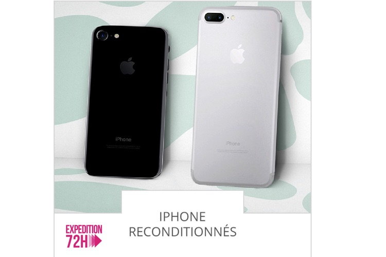 Promo : des iPhone 7 reconditionnés à partir de 389 €