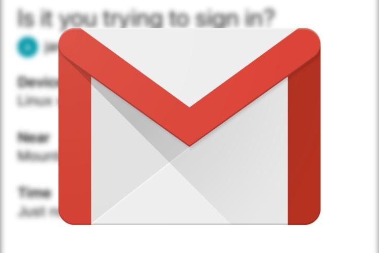 Gmail comme deuxième facteur d'authentification chez Google