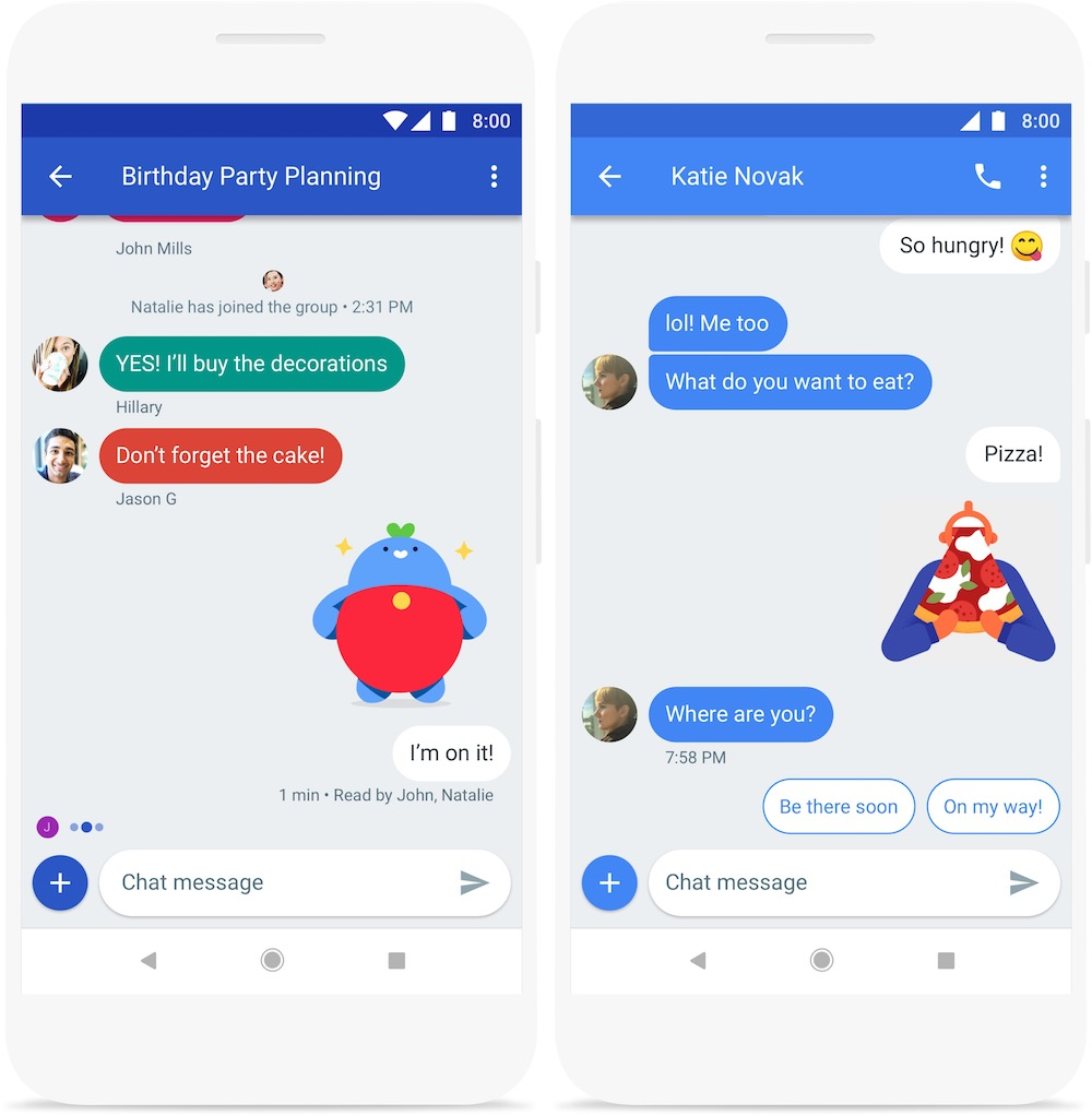 Une alternative aux SMS pour Android — Google Chat