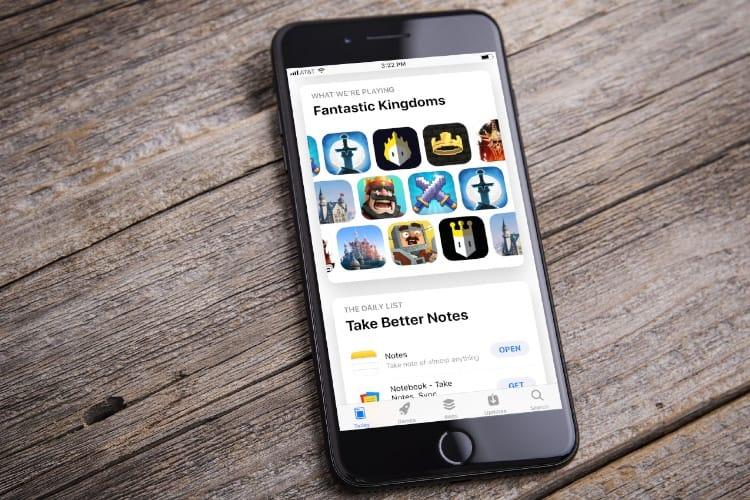 Le jackpot de la page d'accueil Aujourd'hui de l'App Store