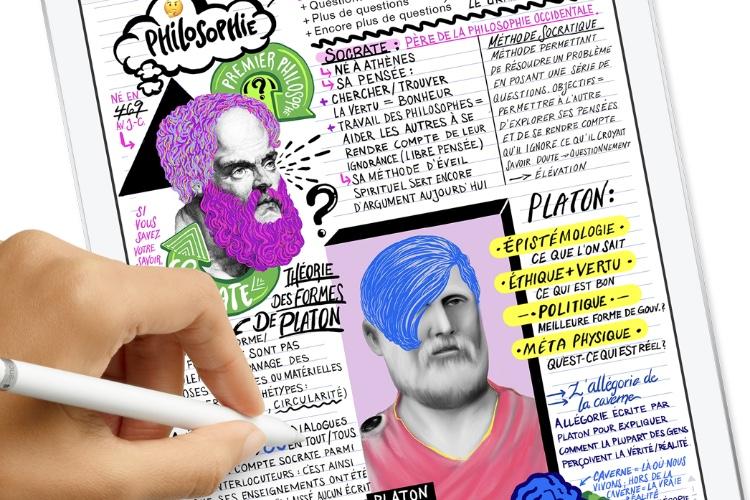 Quatre nouvelles pubs pour l'iPad et son Pencil