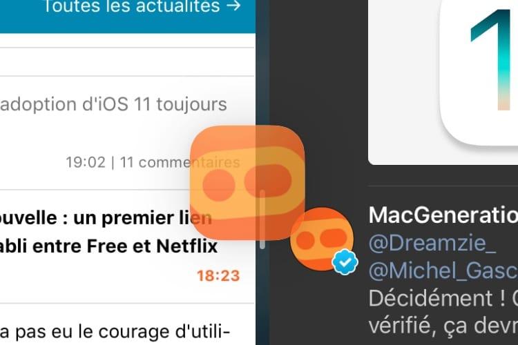 iPad : le glisser/déposer d'apps fonctionne aussi depuis le moteur de recherche