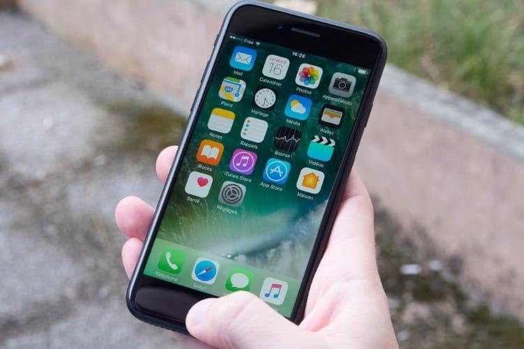 Apple reconnait un bug de haut-parleur dans les iPhone 7 et 7 Plus sous iOS 11.3