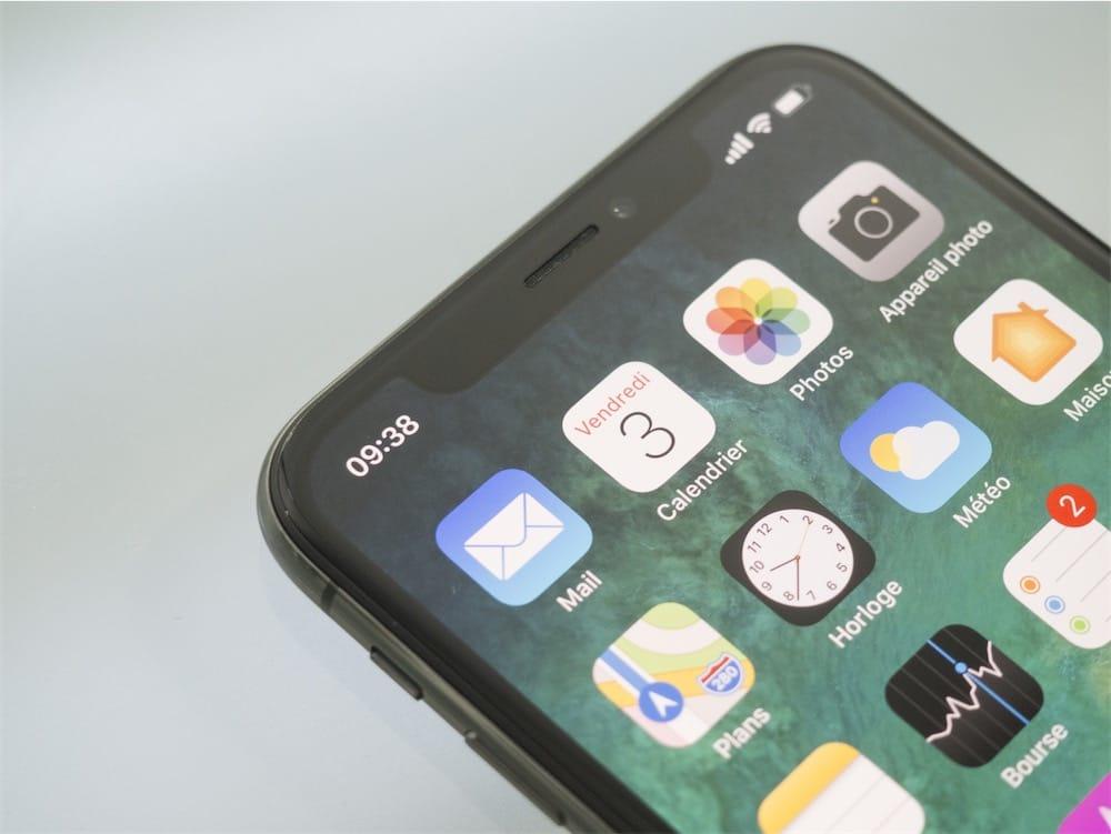 Des soucis (pris en charge) avec Face ID — Apple iPhone X