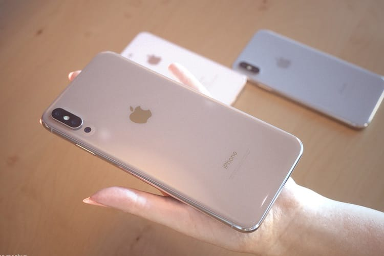 L'iPhone X Plus aurait un encombrement proche de l'iPhone 8 Plus