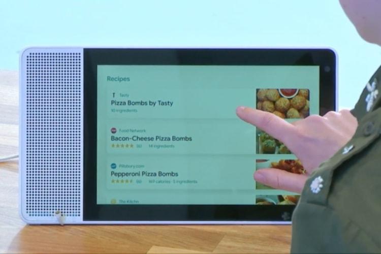 Les écrans Google Assistant en vente cet été