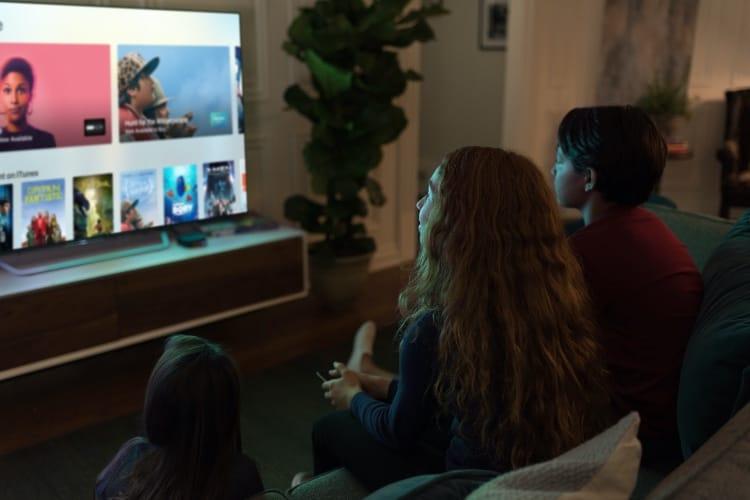 La souscription à des chaînes payantes directement depuis l'application TV ?