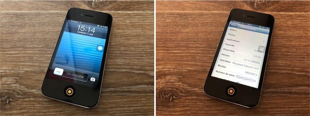 L'iPhone 4S et l'iPad 2 peuvent être restaurés sous iOS 6
