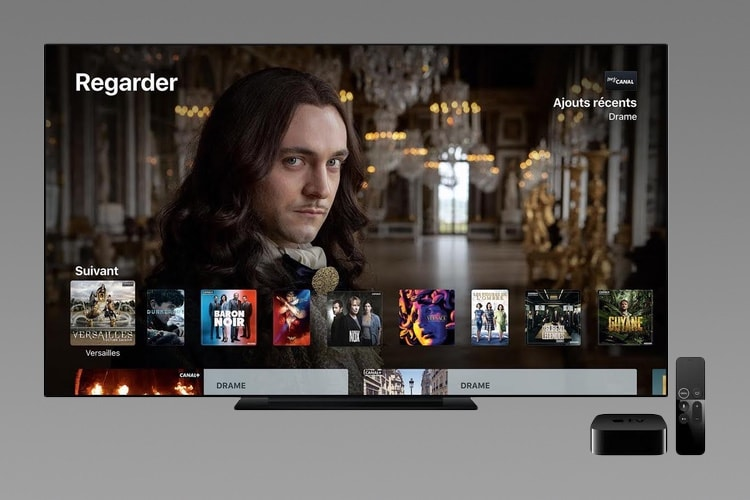 Canal+ va proposer l'Apple TV 4K en location à 6€/mois