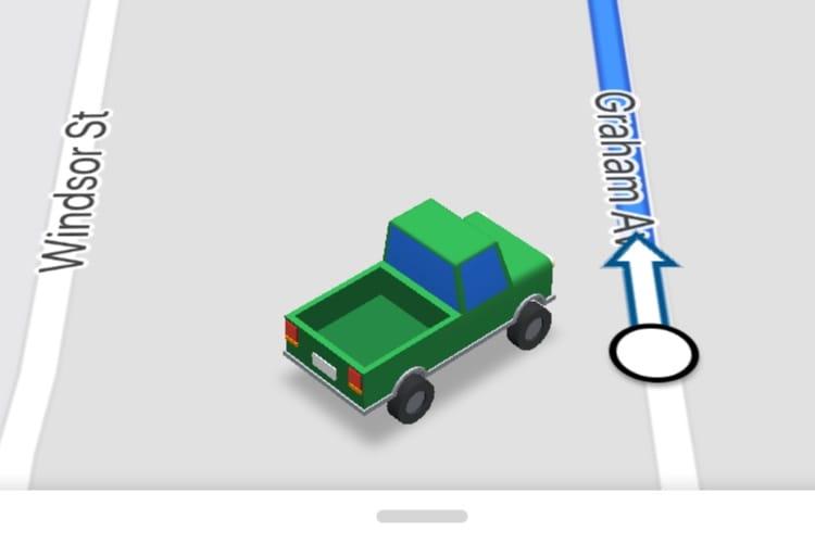 Google Maps joue aux petites voitures