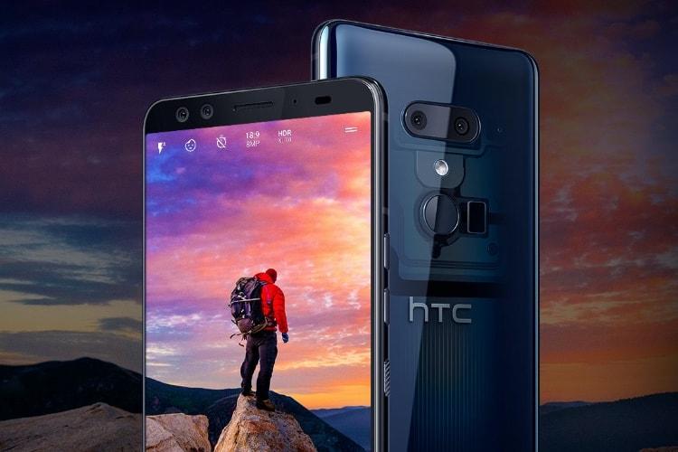 HTC U12+: double appareil photo à l'avant, dos translucide et utilisation à une main