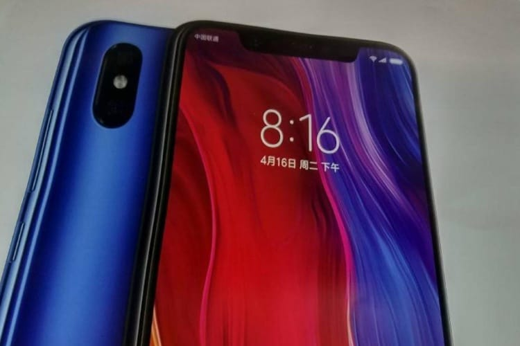 Avec le Mi 8, Xiaomi copie ouvertement l'iPhone X