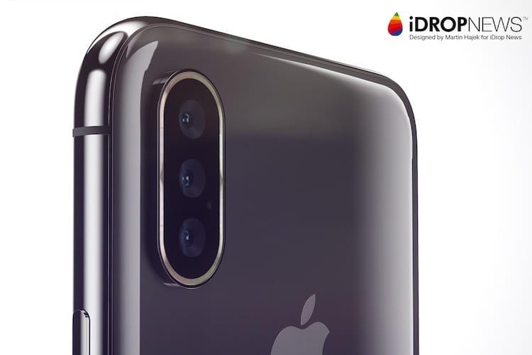 Nouvelle rumeur autour d'un iPhone équipé de trois appareils photo au dos