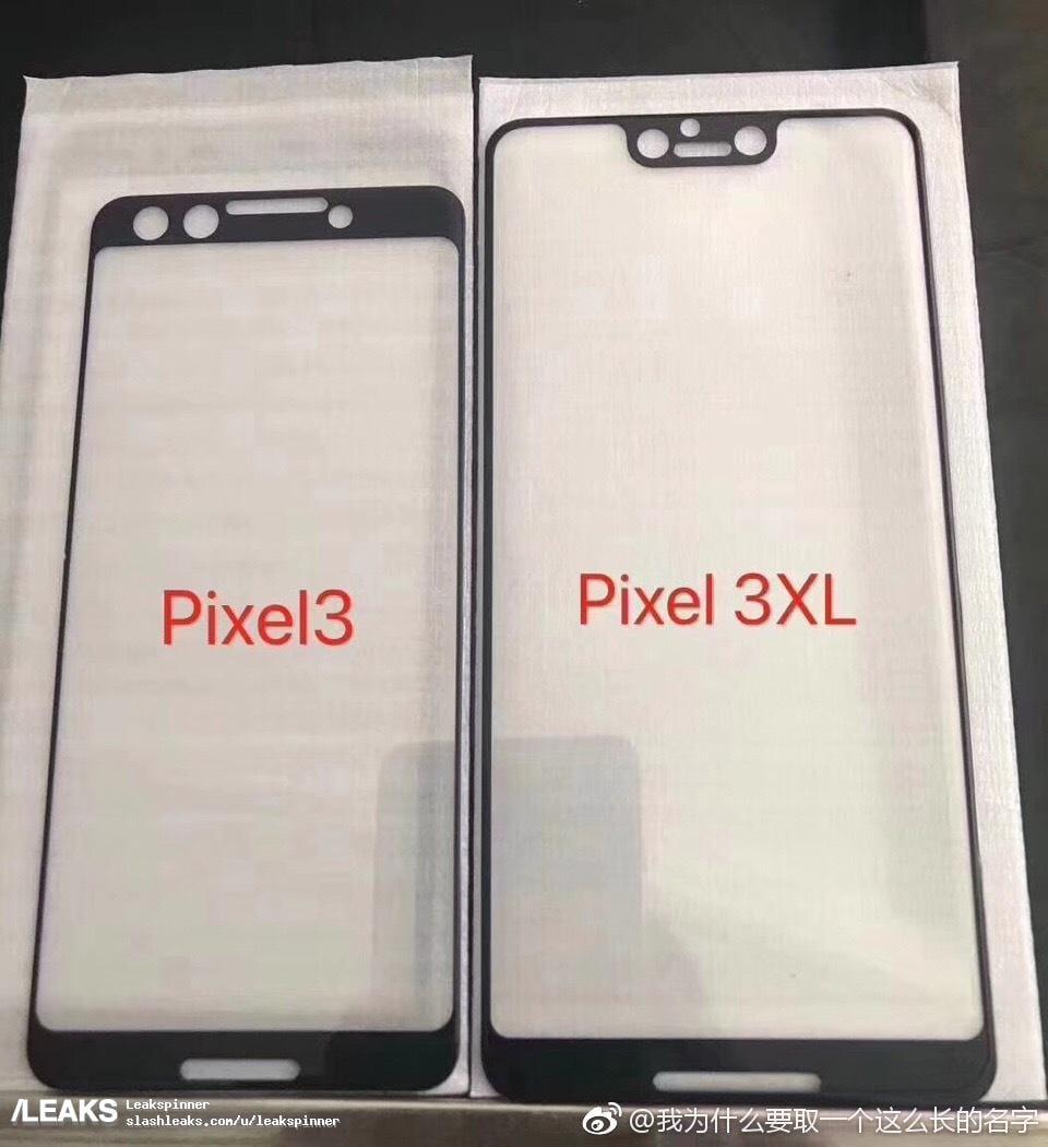 Pixel 3 : des fuites confirment l'encoche sur l'écran