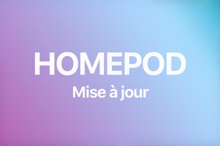 Comment mettre à jour votre HomePod