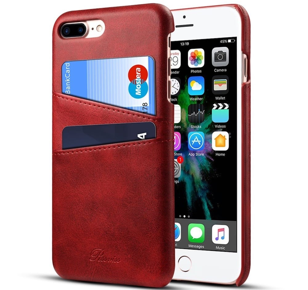 coque iphone 8 plus apple cuir original