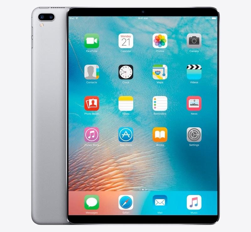 Pour rappel, la prochaine génération d iPad Pro délaisserait le bouton  Touch ID au profit de Face ID et aurait des bordures plus fines. 35caacdf5311