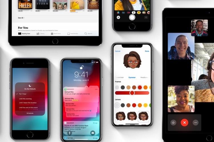 iOS 12 compatible avec les mêmes terminaux qu'iOS 11