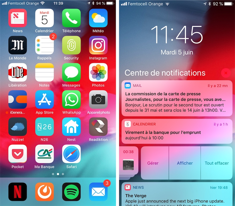 foto de Les fonds d'écran d'iOS 12 et de macOS Mojave pour vos iPhone et ...