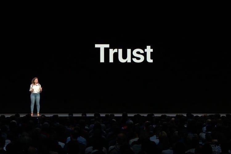 Vie privée: Apple veut renforcer les mots de passe et clarifier les messages d'alerte