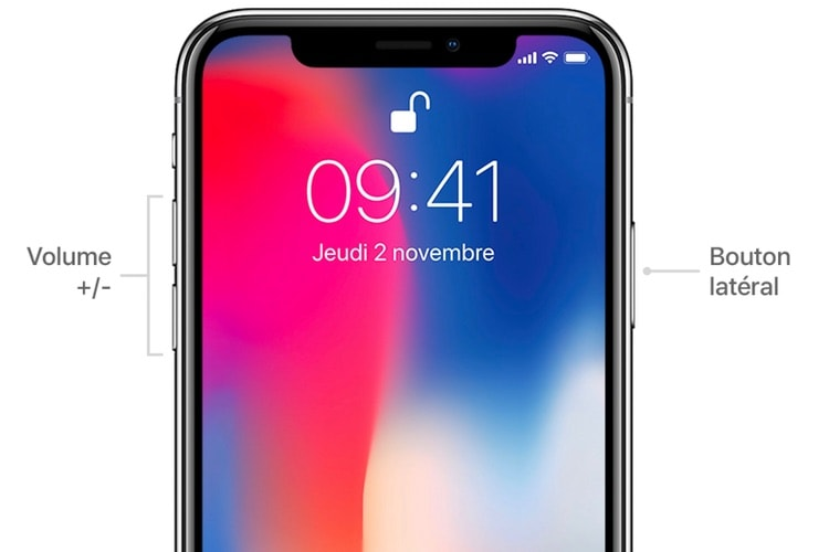 iOS 12 évite les captures d'écran accidentelles sur iPhone X