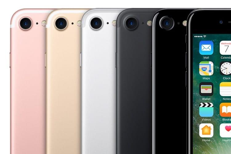Certains iPhone 7 et 7 Plus ont mal à leur haut-parleur