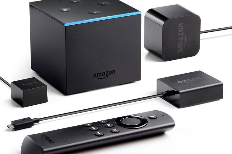 Amazon Fire TV Cube, une boite noire avec Alexa pour le salon