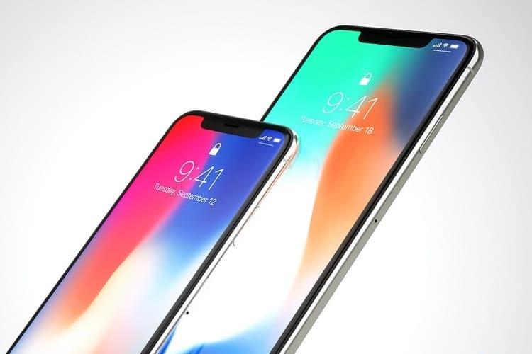 Une petite idée de la définition de l'écran de l'iPhone X Plus
