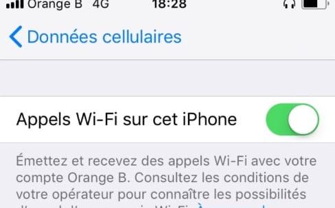 En Belgique, Orange active la VoWiFi sur l'iPhone
