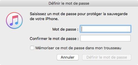 iOS : comment retrouver le code pour les restrictions d'un