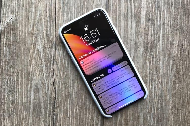 iOS 12 : les notifications mettent le paquet