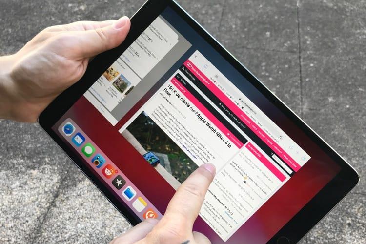 iOS 12 : la nouvelle gymnastique des doigts sur l'iPad