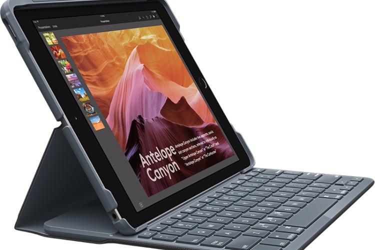 Slim Combo et Slim Folio, les deux étuis-clavier de Logitech pour l'iPad et sonPencil