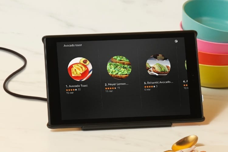 Amazon transforme ses tablettes Fire HD  en Echo tactiles