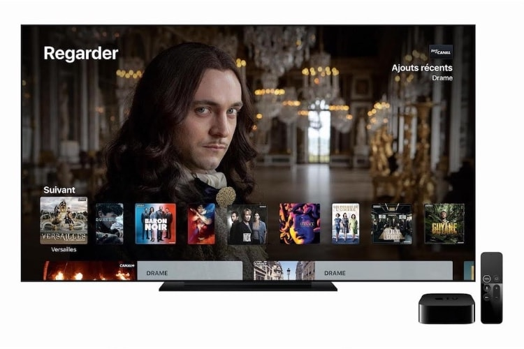 myCanal : du 50 images par seconde en 1080p ou en 4K selon la version de tvOS