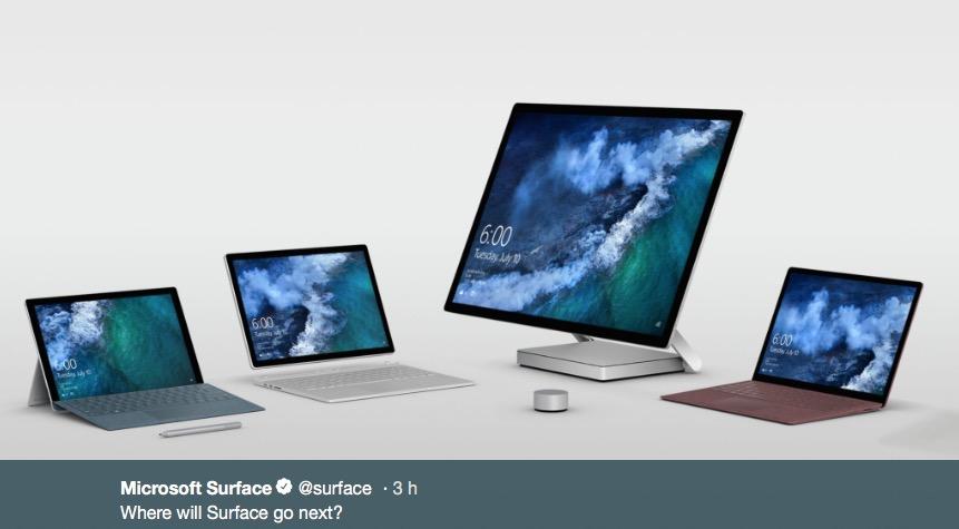 Surface Go : une petite tablette de 10 pouces à 399 $